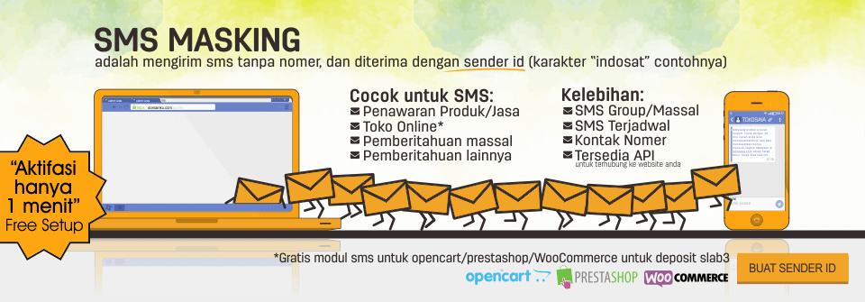banner sms masking kedaihosting