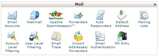 mail cpanel