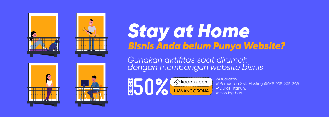 Hosting Murah Berkualitas dan Domain Murah TLD & ID Indonesia